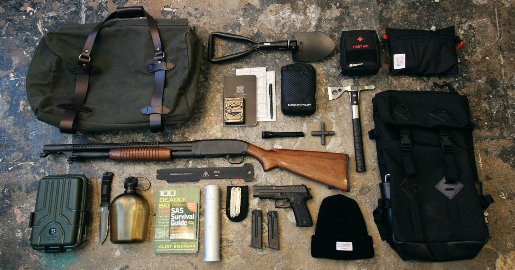 45 Essential Bugout Bag Items Curated By General Quarters