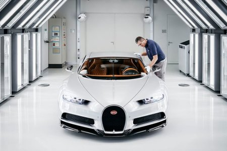 This Backstage Tour of Bugatti HQ Is Willy Wonka for Gearheads