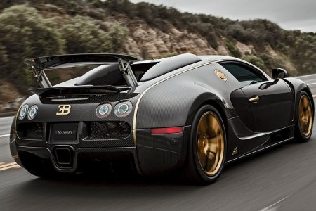 What Concerns Us About This Carbon Fiber Bugatti Veyron Is There's Only One