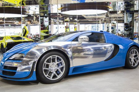 For Sale: A Rolling House of Mirrors Disguised as a Bugatti Veyron