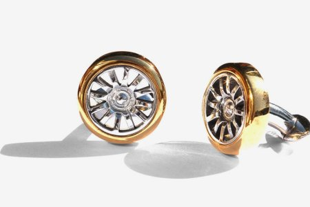 Cufflinks Made From a Bugatti? Let's Ride.