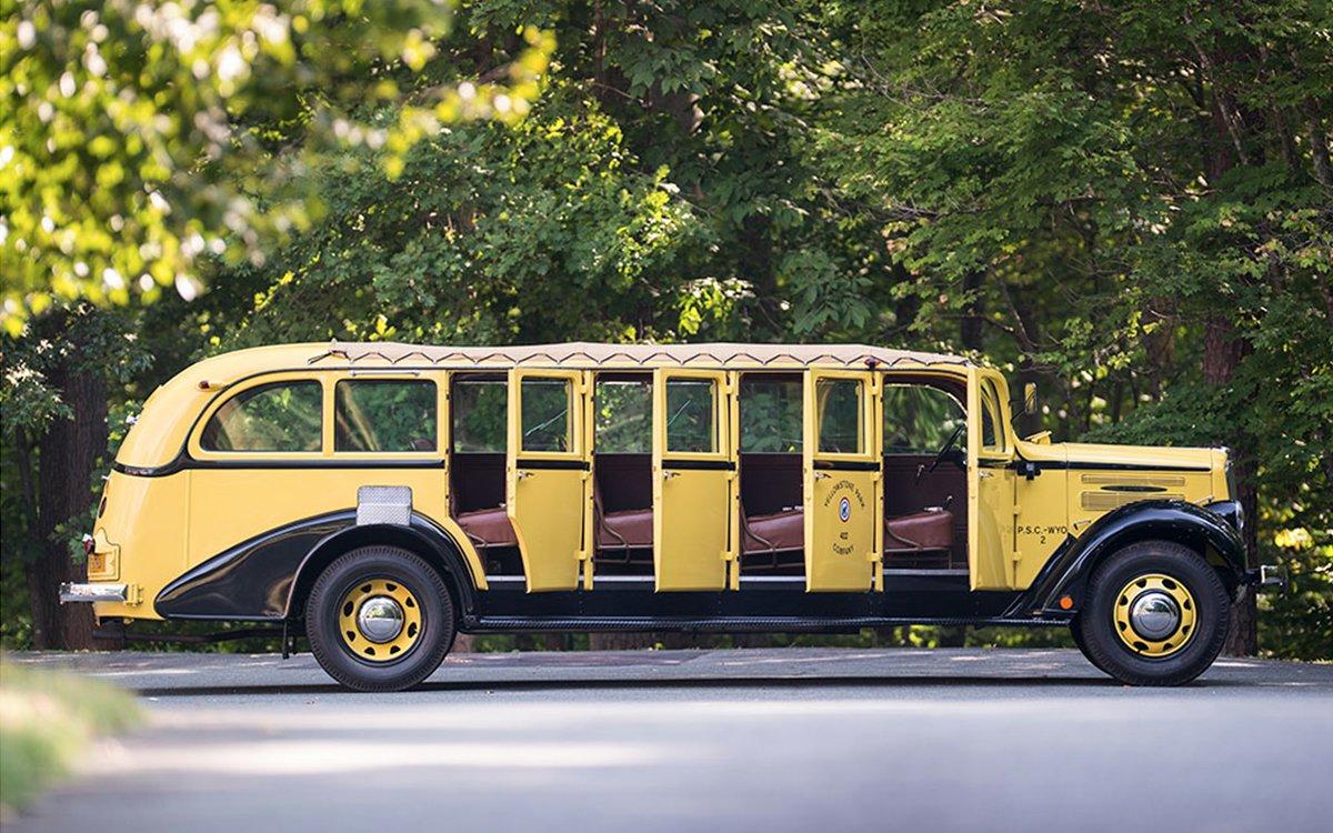 Tour Bus For Sale >> Yellowstone Park Tour Bus For Sale Insidehook