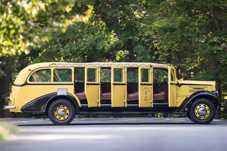 The Original Yellowstone Tour Bus Is Refurbished and Up for Sale