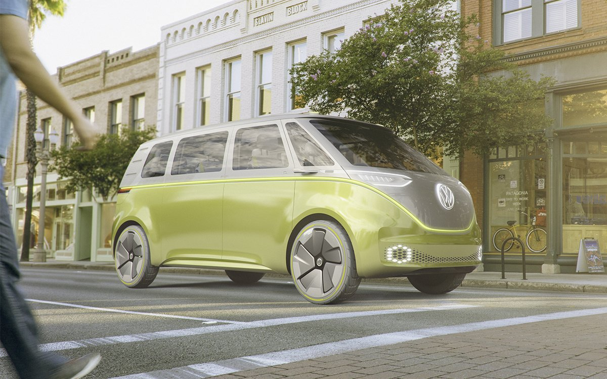 Vw S I D Buzz Is Self Driving Electric Bus And Kombi Insidehook