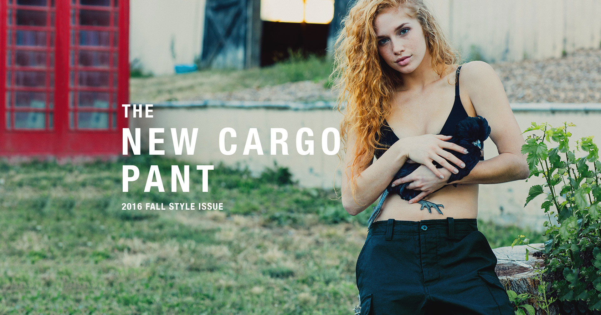 The New Cargo Pant