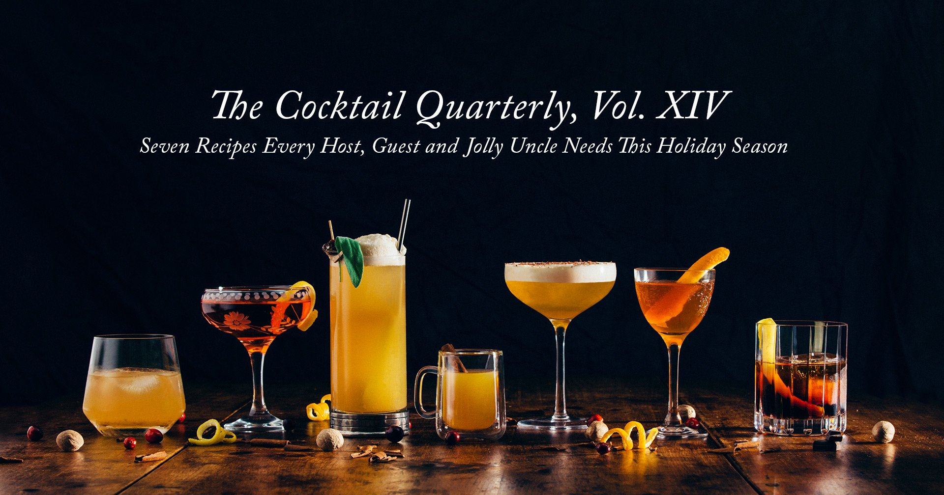 The Cocktail Quarterly Vol. XIV