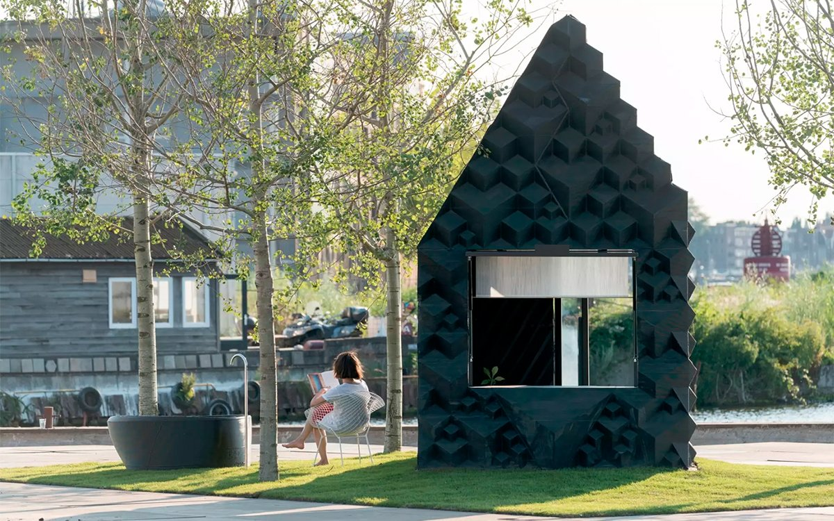 Cancel Your Airbnb and Reserve This 3D-Printed Cabin Instead