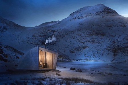 King Arthur's Cave, Reimagined as a Cabin You Can Stay In
