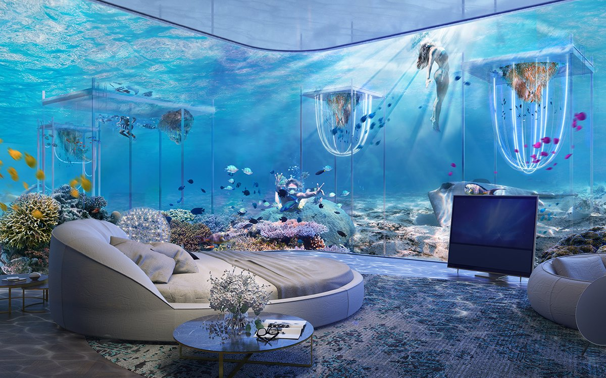 You Can Stay in an Underwater Hotel Soon Because Dubai