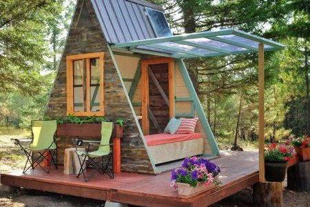 $700 Is All That Stands Between You and a Charming A-Frame Cabin