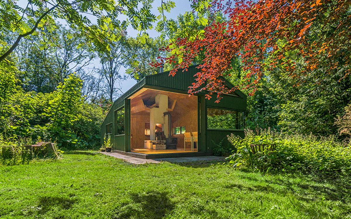 With a Cabin Like This, Sign Us Up for Park Rangering