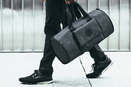 Customizable Duffel Solves Your Gym/Commute/Carry-On Struggles in One Go