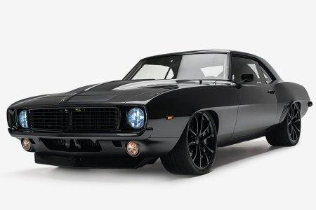 Is This '69 Camaro Too Black? Nah.