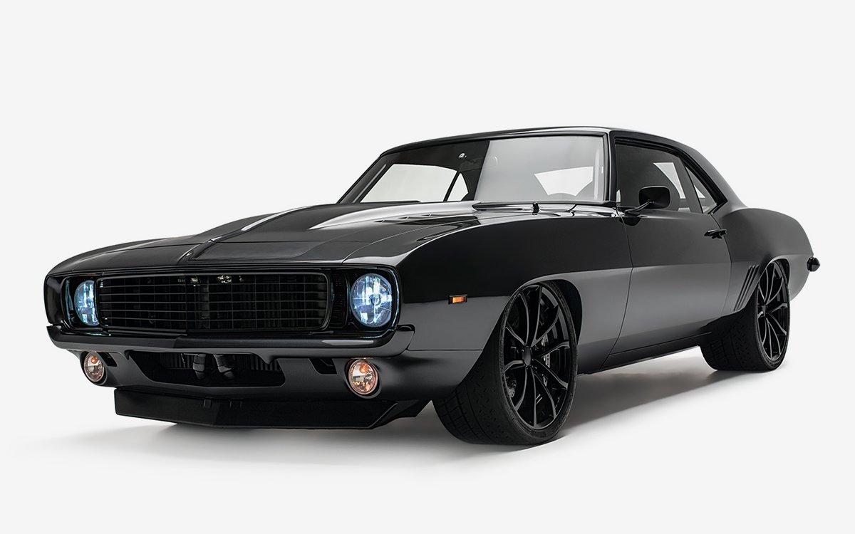 Timeless Kustoms Rebuilt 1969 Chevy Camaro for Brad Penny