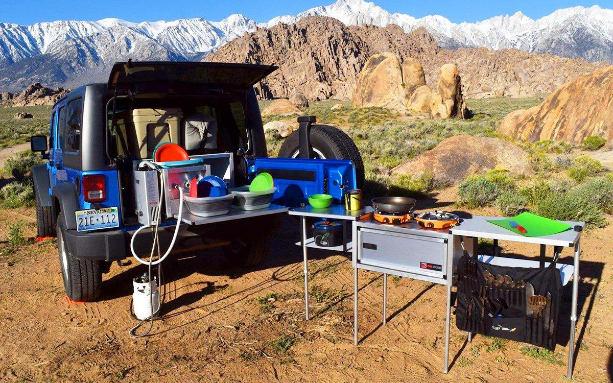 Trail Kitchens Wrangler Camping System - InsideHook