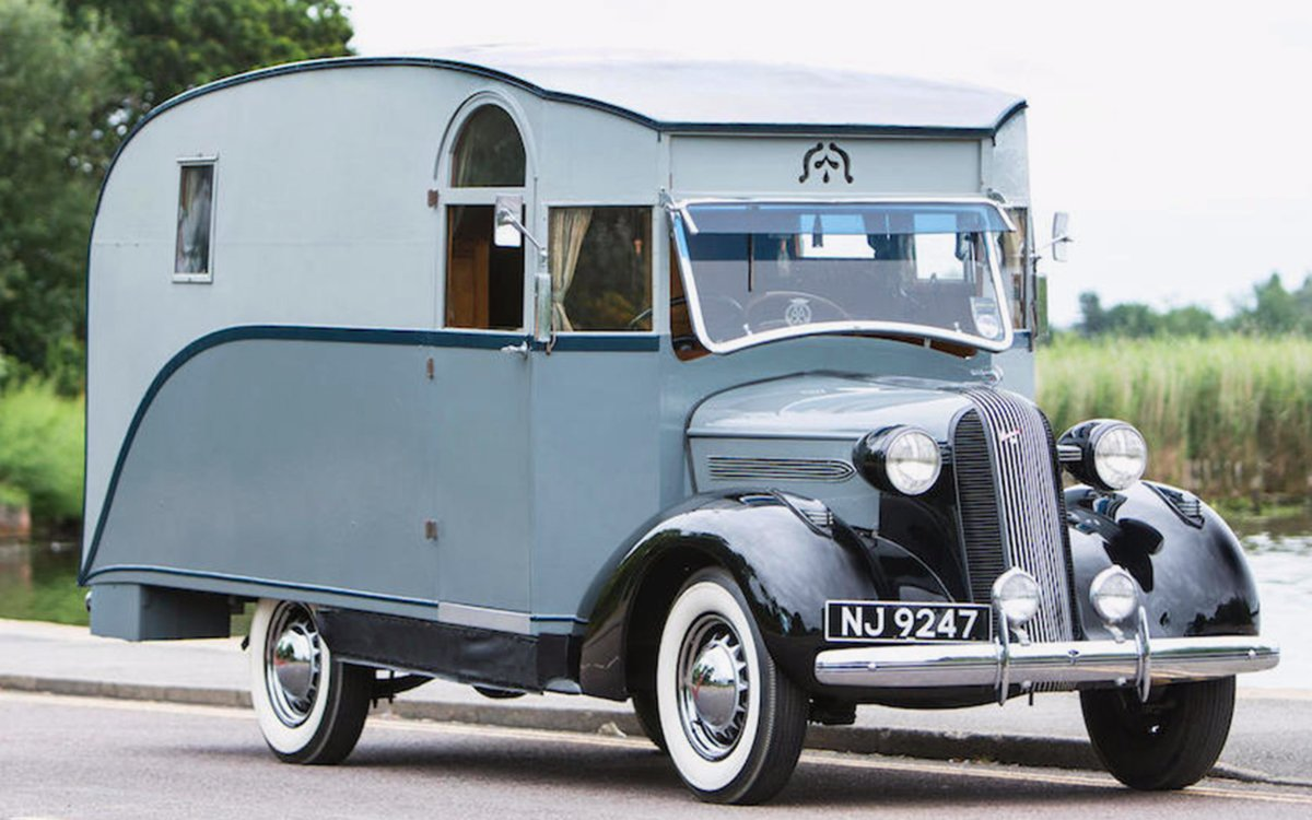 Britain's First-Ever Camper Is Going To Auction - InsideHook