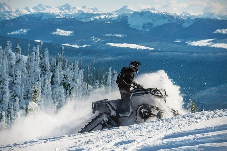 These Treads Turn ATVs Into Snowmobiles in 30 Minutes Flat