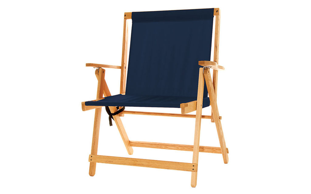 Blue Ridge Canvas Deck Chair