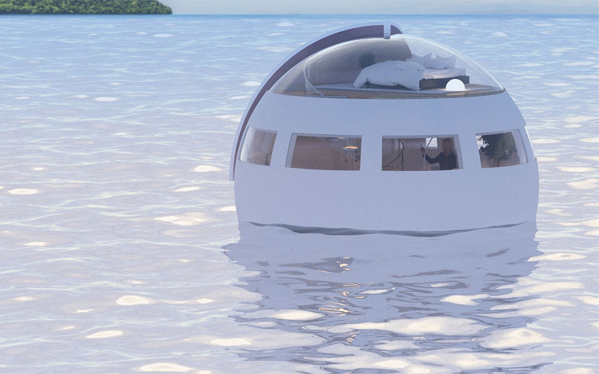 Japan Is Making Hotel Rooms That Are Drifting, Floating Orbs