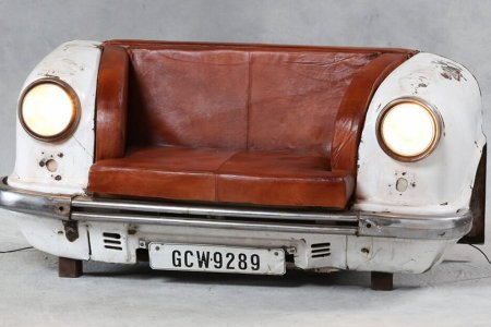 Are These Upcycled Car Sofas Hideous, or Endearingly Kitschy?