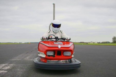 Watch the Fastest Bumper Car in the World Hit 107 MPH
