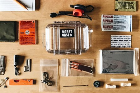 A Survival Kit That Fits in the Palm of Your Hand