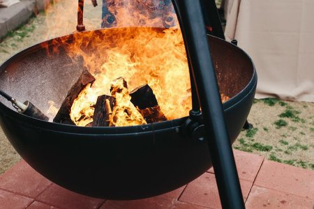 Cowboy Cauldrons Are Here to Put Your Fire Pit to Shame