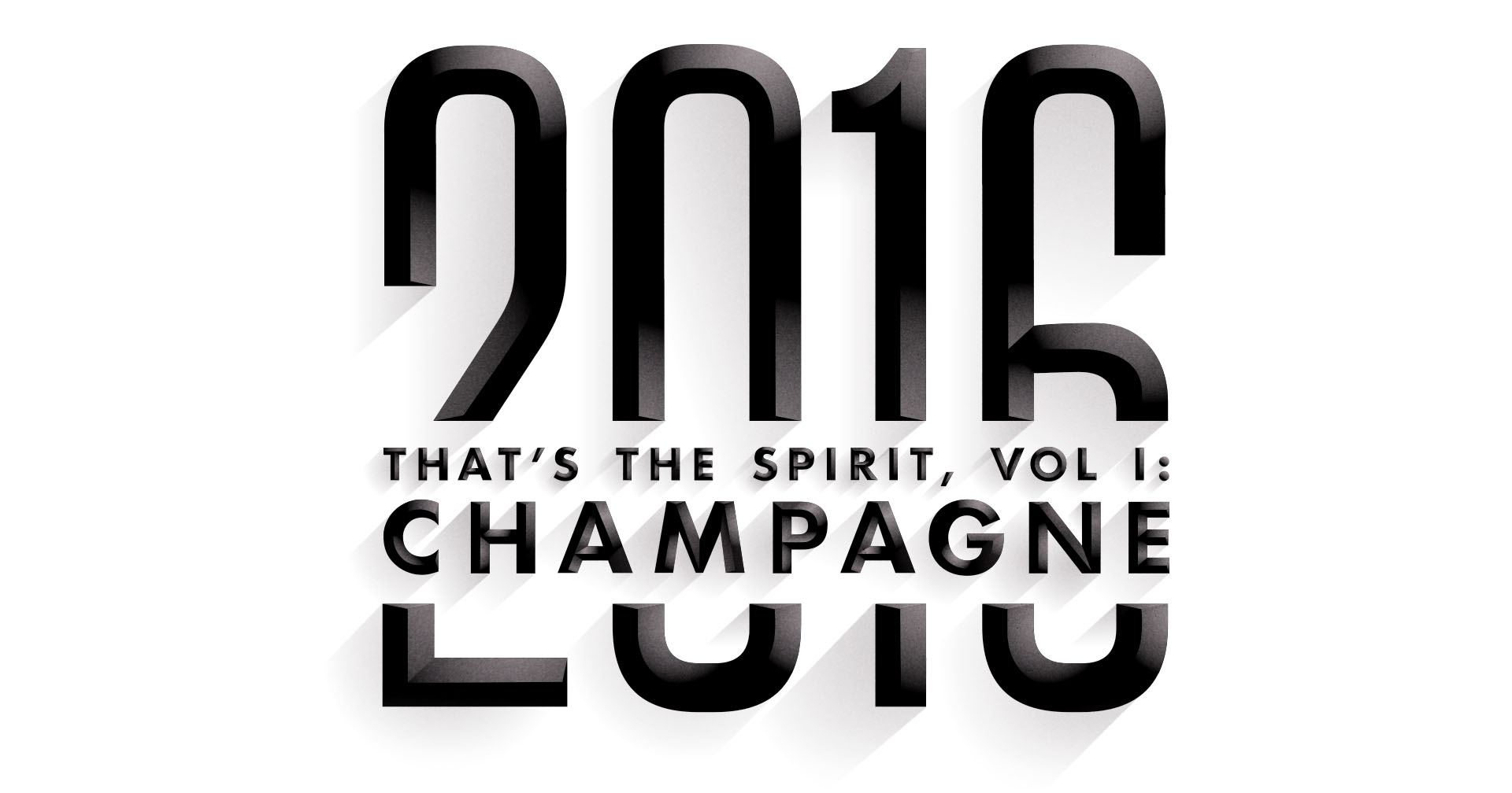That's the Spirit, Vol. I: Champagne