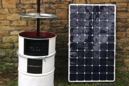 There Are Now Solar Generators Made From Oil Drums Because Irony
