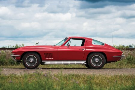 You'll Never Find a Littler, Redder Corvette Than This '67 Sting Ray
