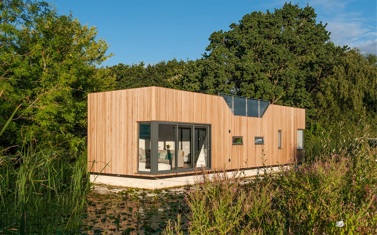 When the Floods Arrive, You'll Be Glad You Invested in This Floating House