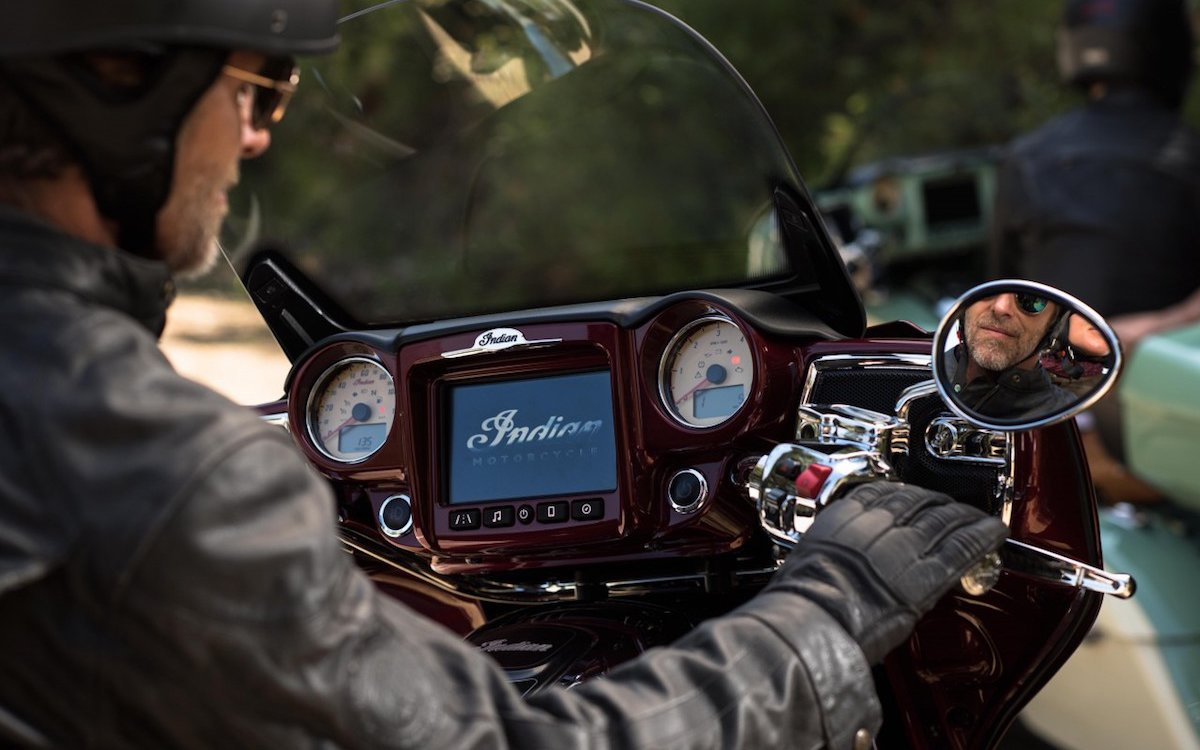 Cool! A Motorcycle Infotainment System. That Definitely Won't Kill You.
