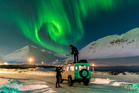 We Talked to the Guy Who Went Surfing Under the Northern Lights