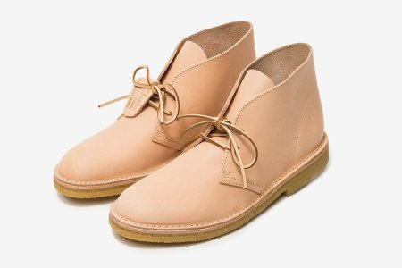 Clarks' New Veg-Tan Collection Will Probably Outlive Your Feet