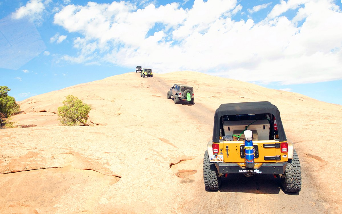 We Went to Moab to Learn the Rules of Off-Roading