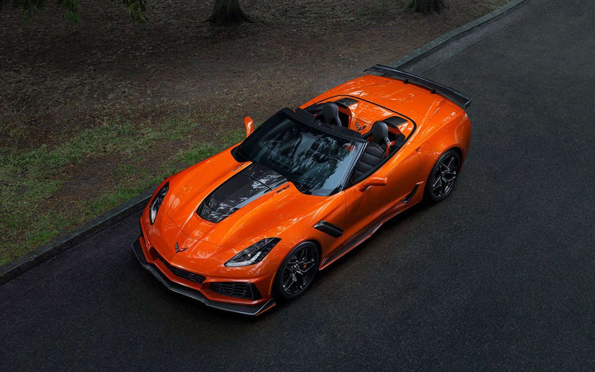 The First ZR1 Convertible Since 1970 Pays Tribute to an Epic American Automobile