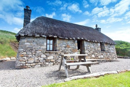 A Quaint Compound on Scotland's Isle of Skye Is Up for Sale