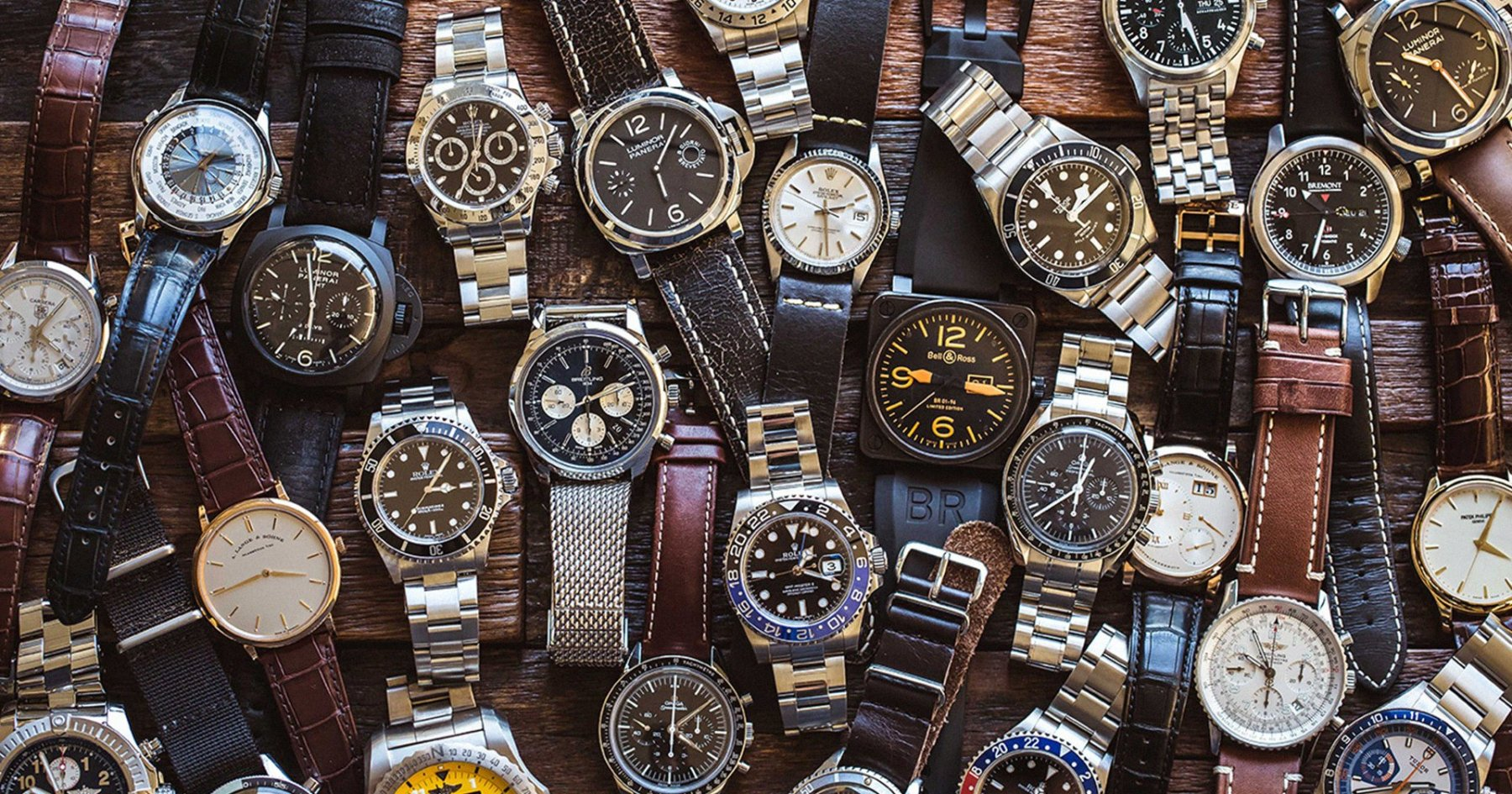 A Cheat Sheet to the 8 Most Iconic Men's Watch Brands