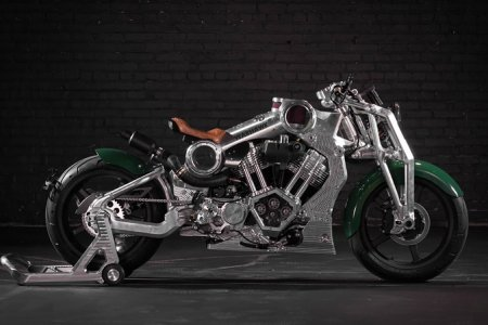 The First Build From Curtiss Motorcycles Is Heavy Metal on Two Wheels