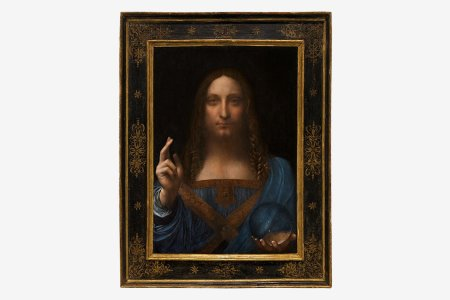 Da Vinci's Last For-Sale Painting Would Really Tie the Room Together