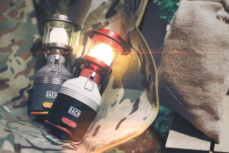 A Lantern That'll Light Your Way for 10 Days on a Single Charge