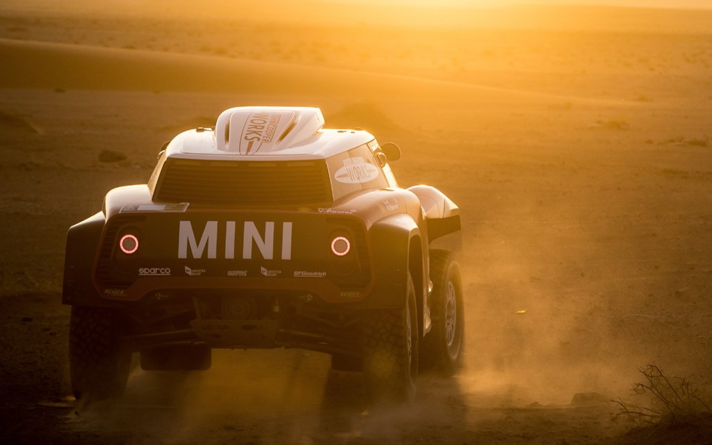 Mini Cooper Dune Buggy Made for Dakar Rally 2018 in Peru