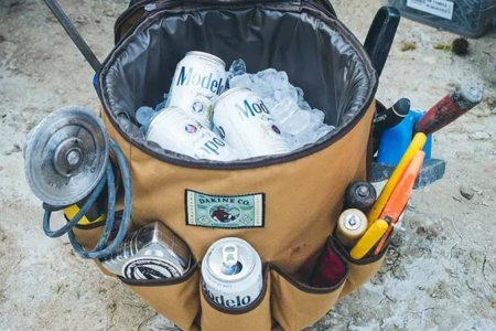 """Party Bucket"" Is the Beer-Schlepping Toolbelt Every Bucket Needs"