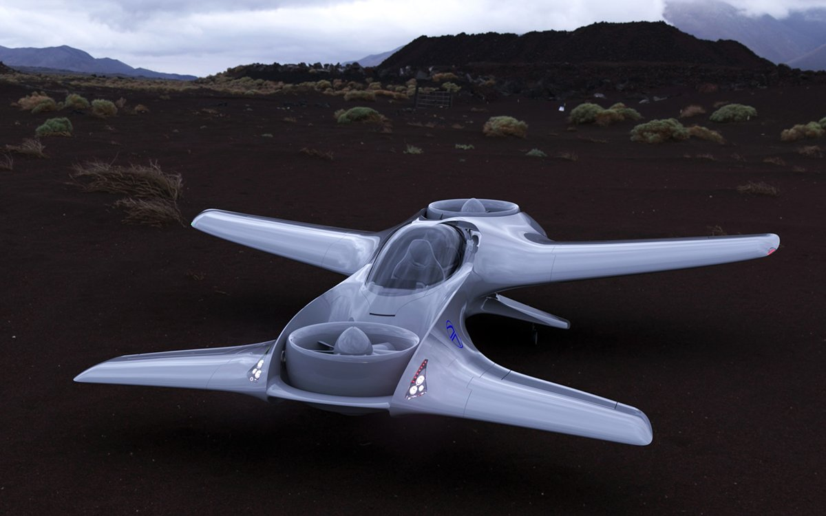 DeLorean Aerospace's Flying Car Will Unfortunately Not Travel Through Time