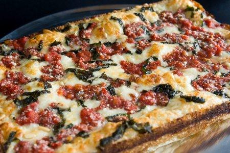 The Crispy, Very Delicious Rise of the Square Pizza