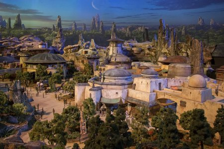 Here's the First Look of 'Star Wars Land' You've Been Waiting for, Nerds