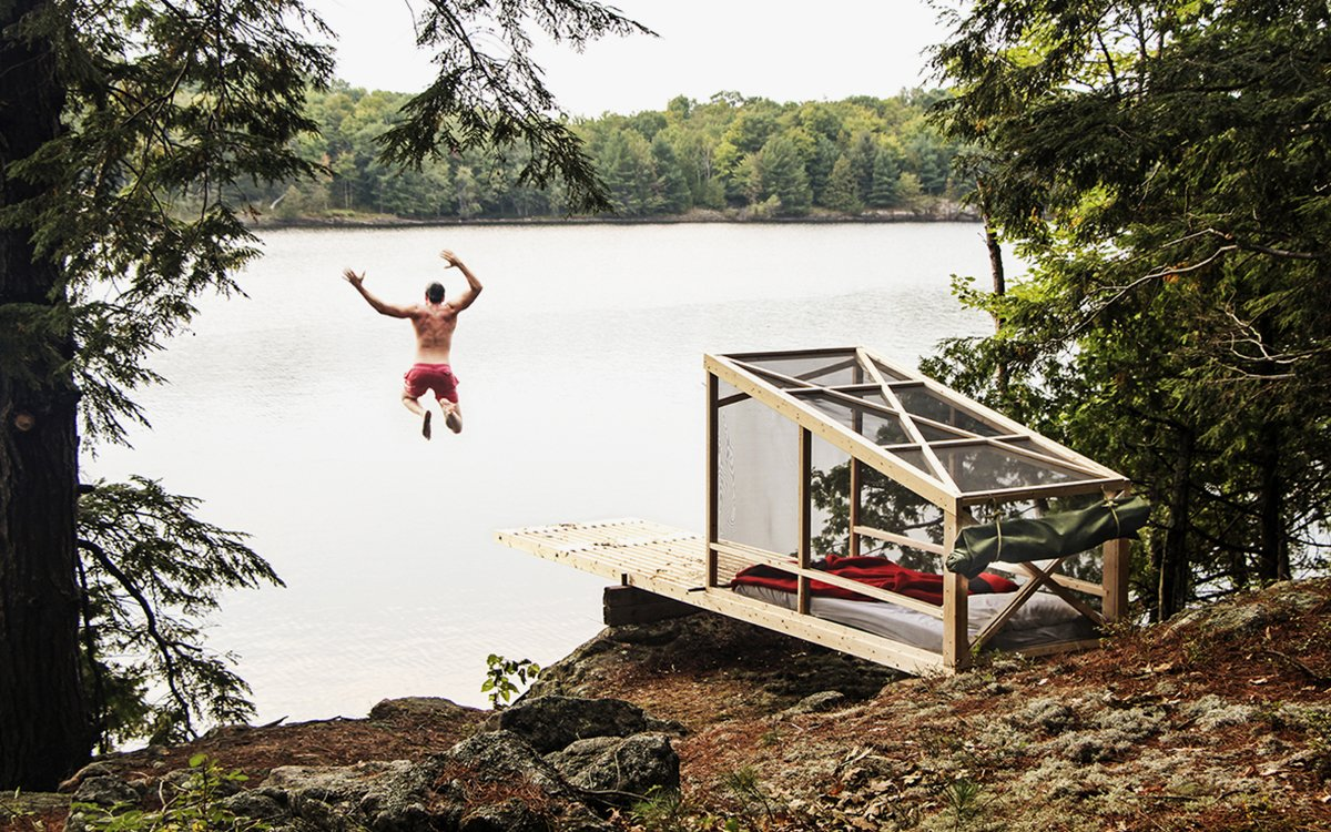 Your Favorite New Campsite Is Also a Secret Cliff-Diving Outpost