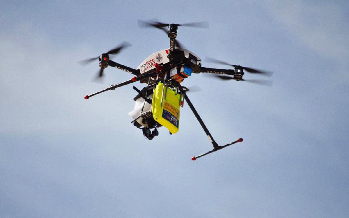 Of Course Australia Made a Drone to Spot Sharks