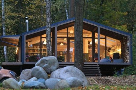 10 Days. That's How Long It Took to Build This Prefab Cabin.