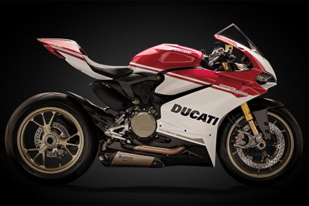 """This 90th-Ann'y Ducati Comes With Something Called """"Wheelie Control"""""""